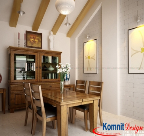 Khmer Interior Dining Room DR-0099 in Cambodia